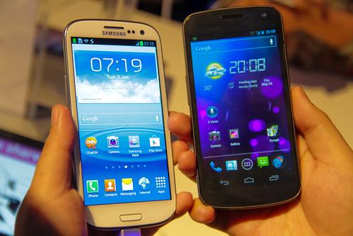 Samsung Galaxy S III and Galaxy Nexus | by Sham Hardy