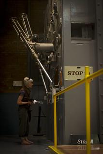 EBR-1: Radioactive handling chamber | by mormolyke
