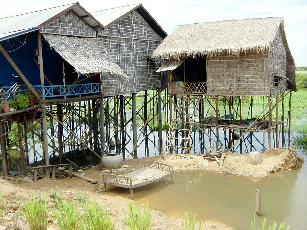 Stilt Houses, Cambodia | south | Flickr