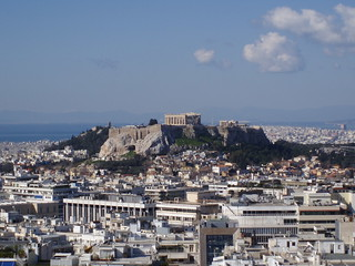 Acropolis from Lycabettus | by PapaPiper