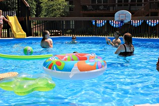 Pool Party   by LuAnn Snawder Photography
