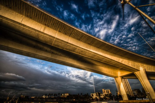 sky clouds hdr goldenhour clearwater stateroad60 memorialcauseway