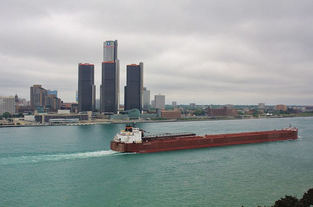 Storm Clouds Over Detroit