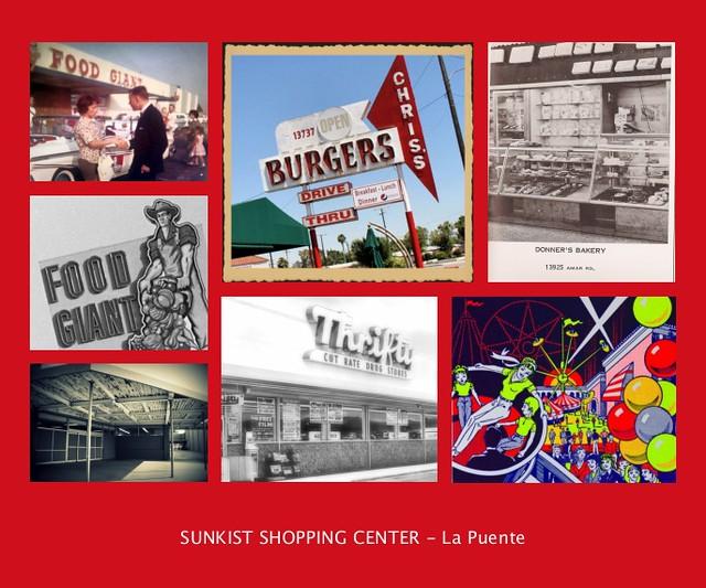 SUNKIST SHOPPING CENTER - La Puente