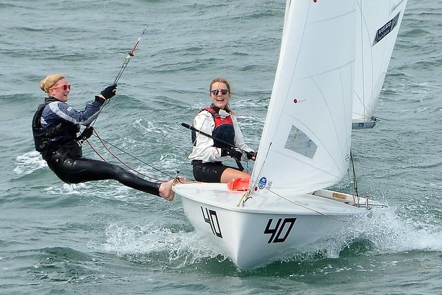 Yacht Race At Trearddur Bay On Anglesey