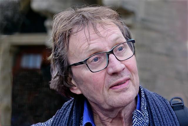 Cees Grimbergen journalist en televisiepresentator.