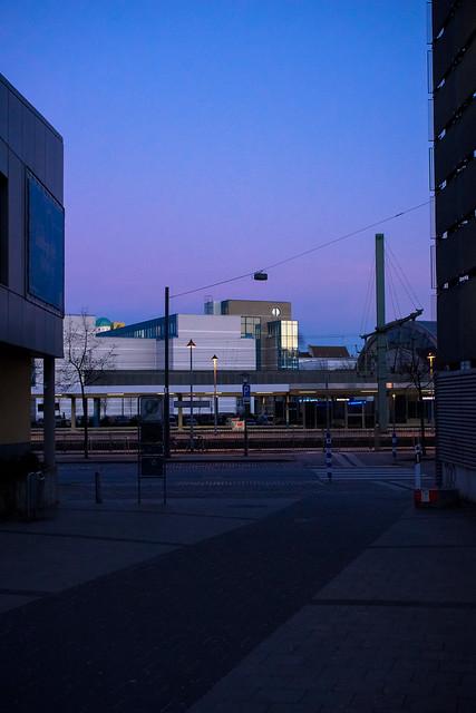 Bielefeld - Bahnhof, Ostmanturm, Stadthalle, Hauptpost
