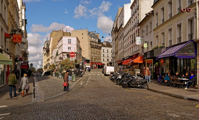 Montmartre / Rue Lepic