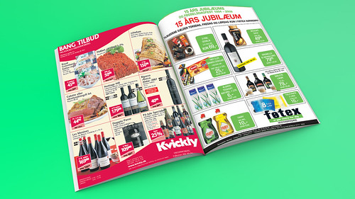 Product catalog, brochure, sale sheet layout to print