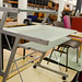Glass desk E35