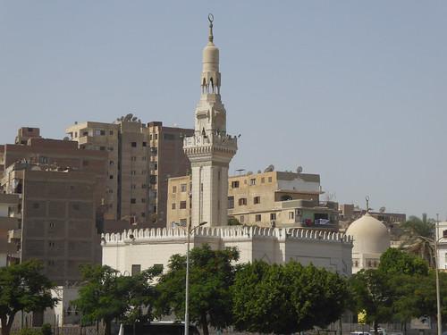 minya egypt architecture mosque minaret