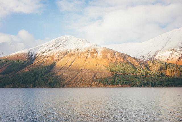 Loch Linnhe & Garbh Bheinn.