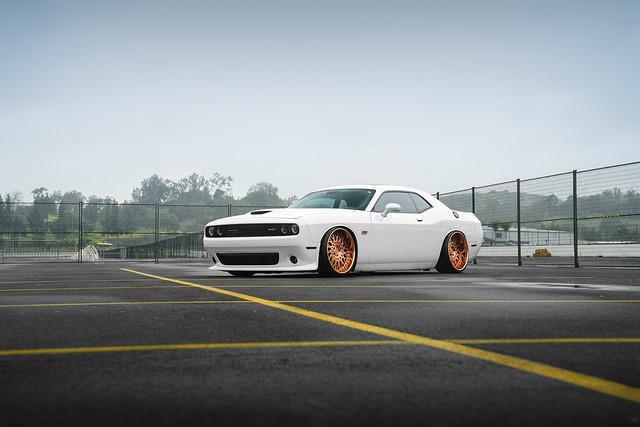 Dodge Challenger 392 Hemi - Brushed Polished Copper w/ Gloss Black Hardware