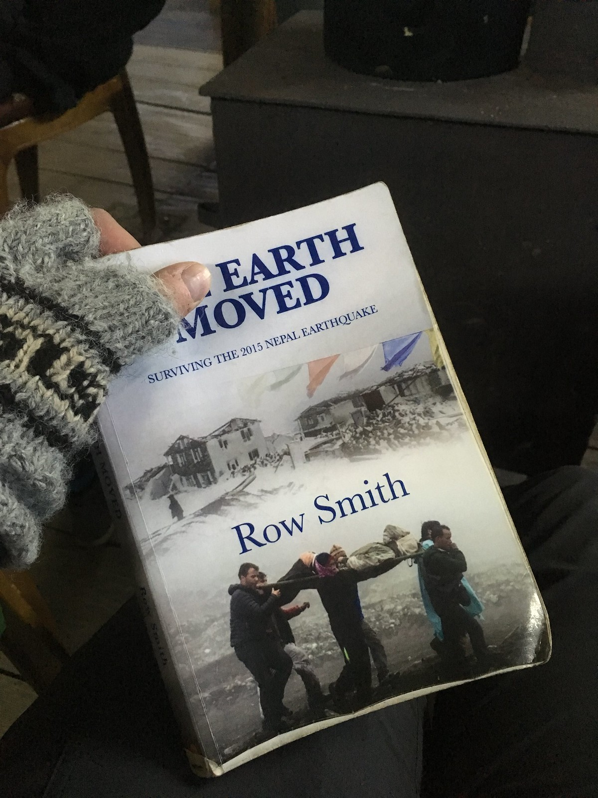 Row Smith - The Earth Moved