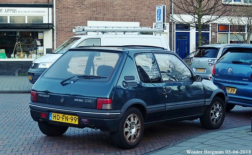 Peugeot 205 1.9 Gentry automatic 1993 | by XBXG