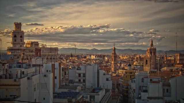 València per la vesprada