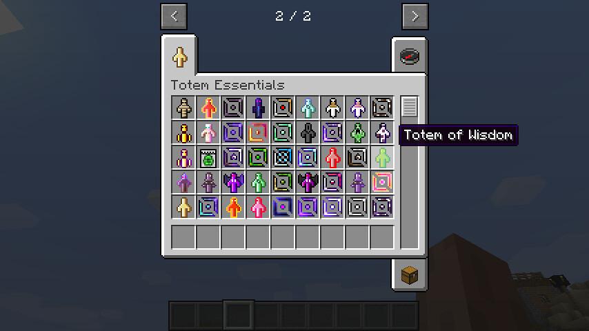 Totem Essentials Mods 1 12 2 | Totem Essentials is a mod tha