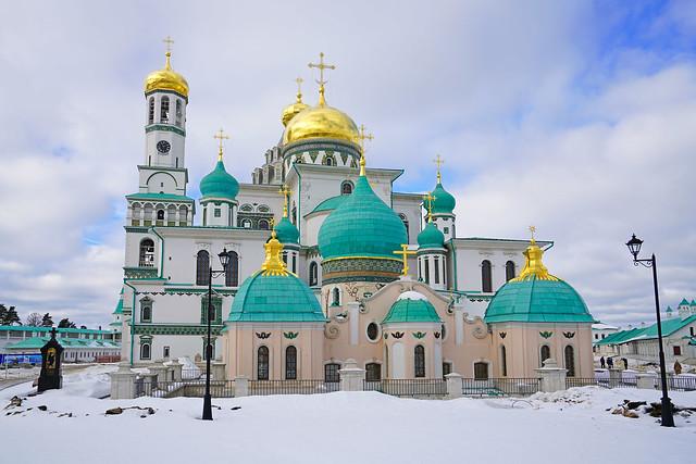 New Jerusalem monastery, Istra, Russia
