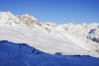 Giggijoch chair and ski area   by A. Wee