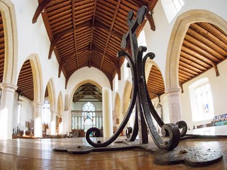 St. Mary's, South Walsham - Font  Fisheye lens | by AMcUK
