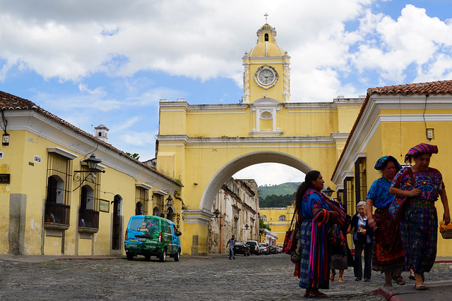Antigua famous arch