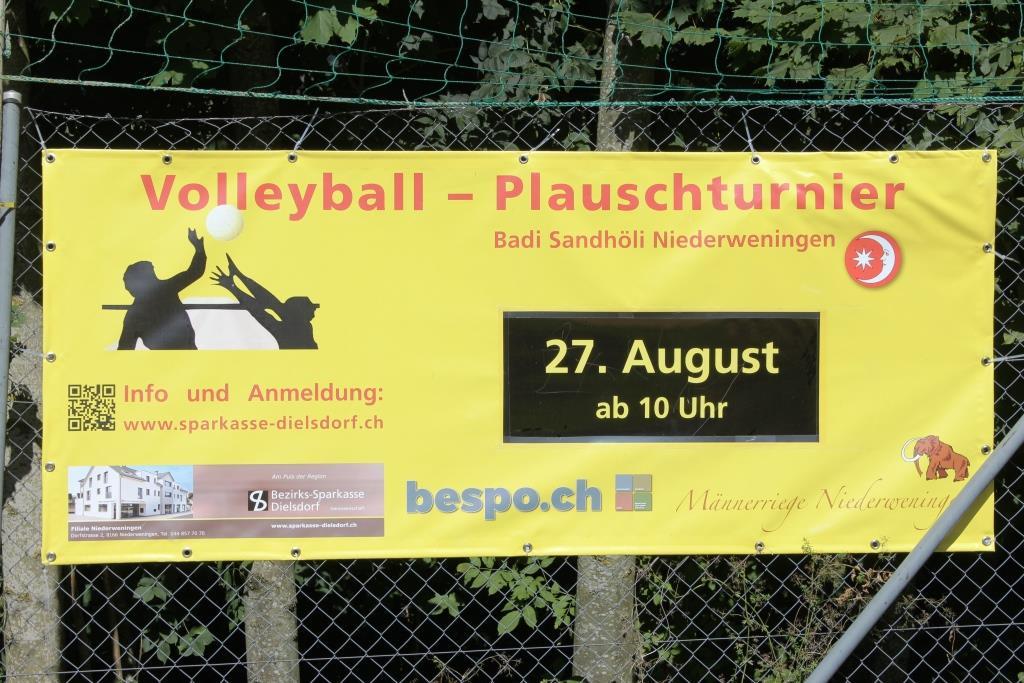 Volley-Plauschturnier in Niederweningen