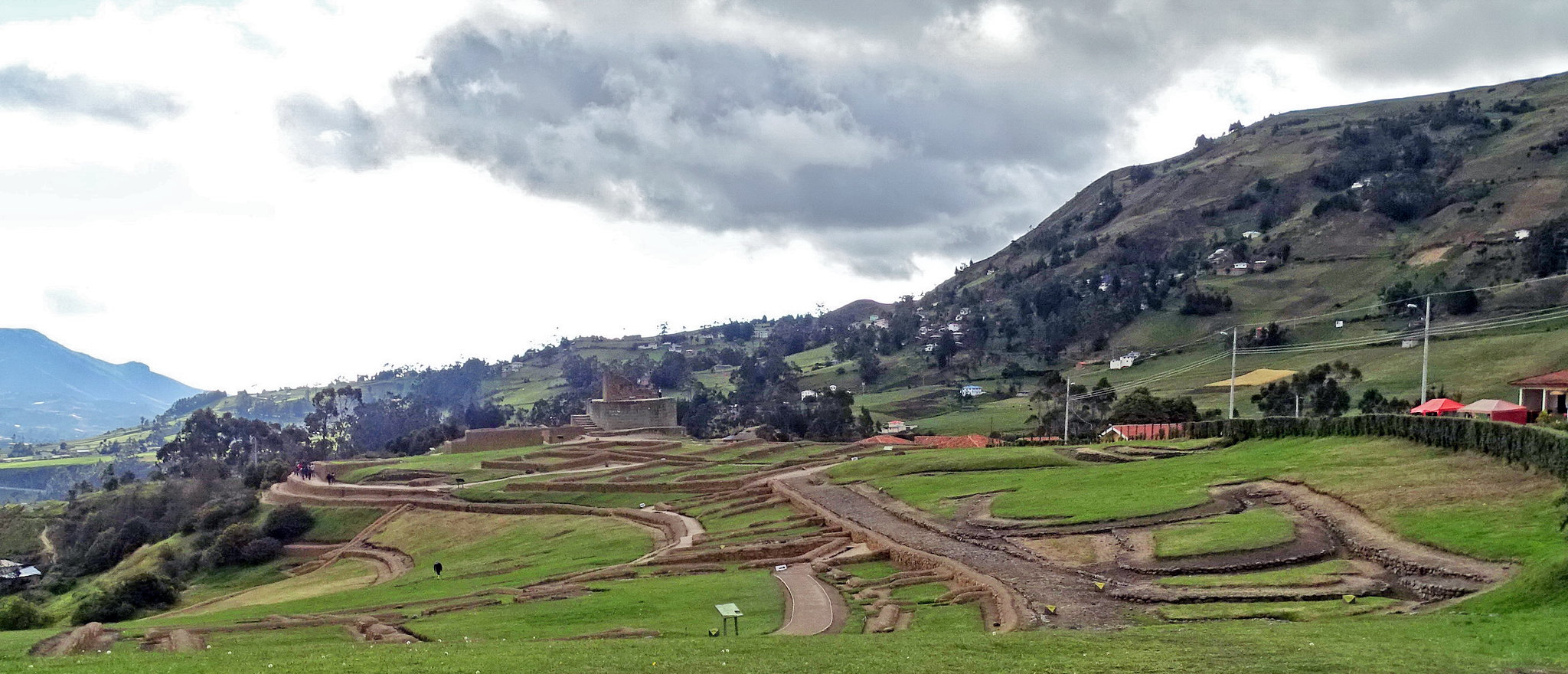 Vistas generales Ingapirca Ecuador