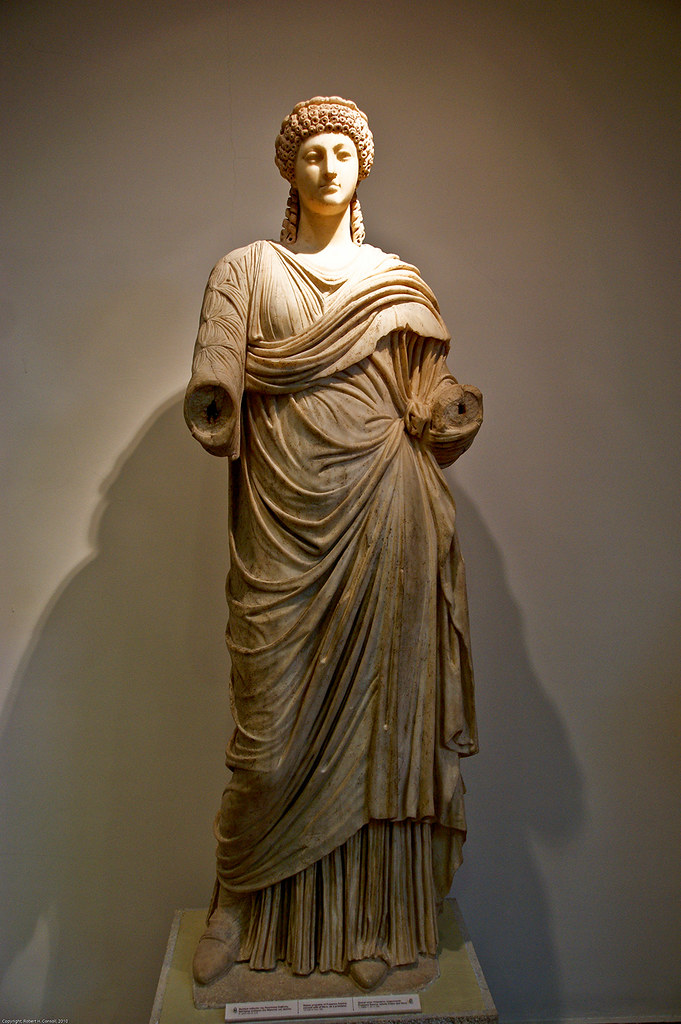 Poppaea Sabina  Wife of Nero, as a priestess  Archaeologic