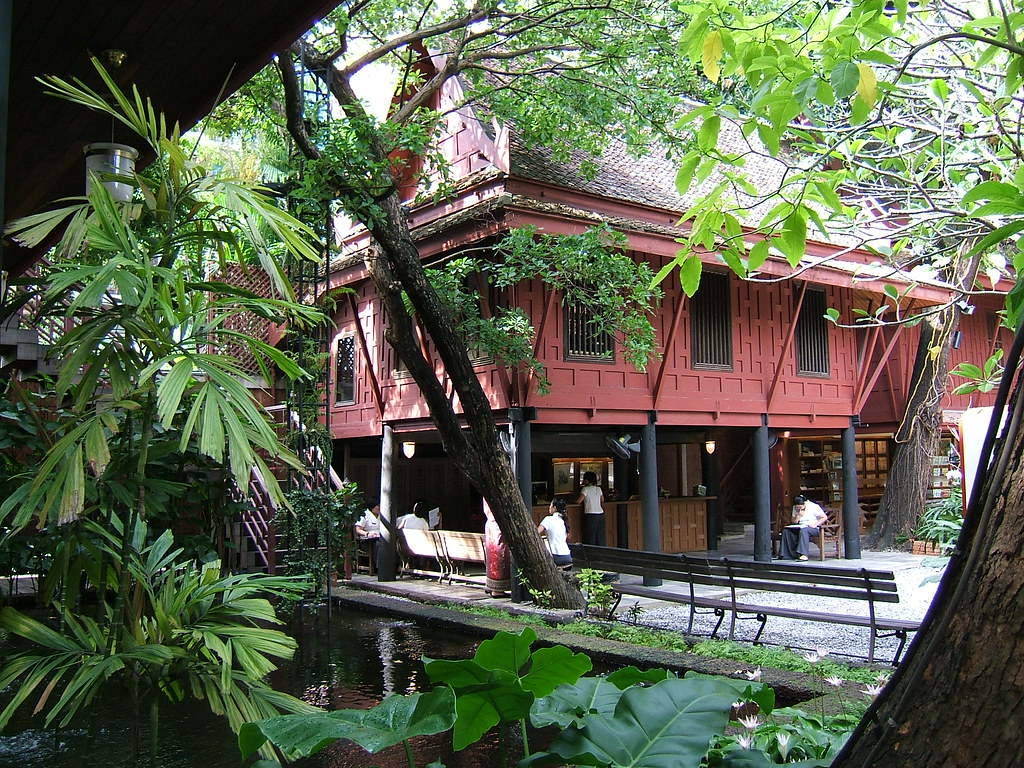 Jim Thompson House, exterior view- the man disappeared str…   Flickr