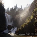 Dawn Mist Falls