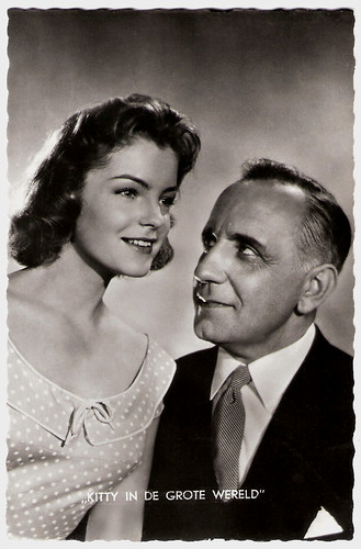 O.E. Hasse and Romy Schneider in Kitty und die grosse Welt (1956)