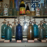 Fri, 08/06/2012 - 10:45am - Bottles from Brooklyn based seltzer companies.