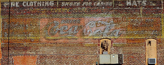 Ghost signs - Bryan,Texas