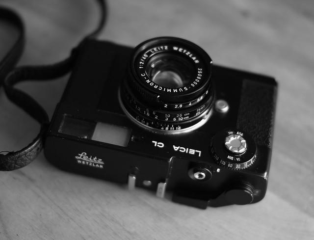 Leica CL+Summicron-C 40mm F2