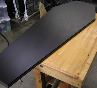 Coffin lid routed and base coat | by ChrisGrote
