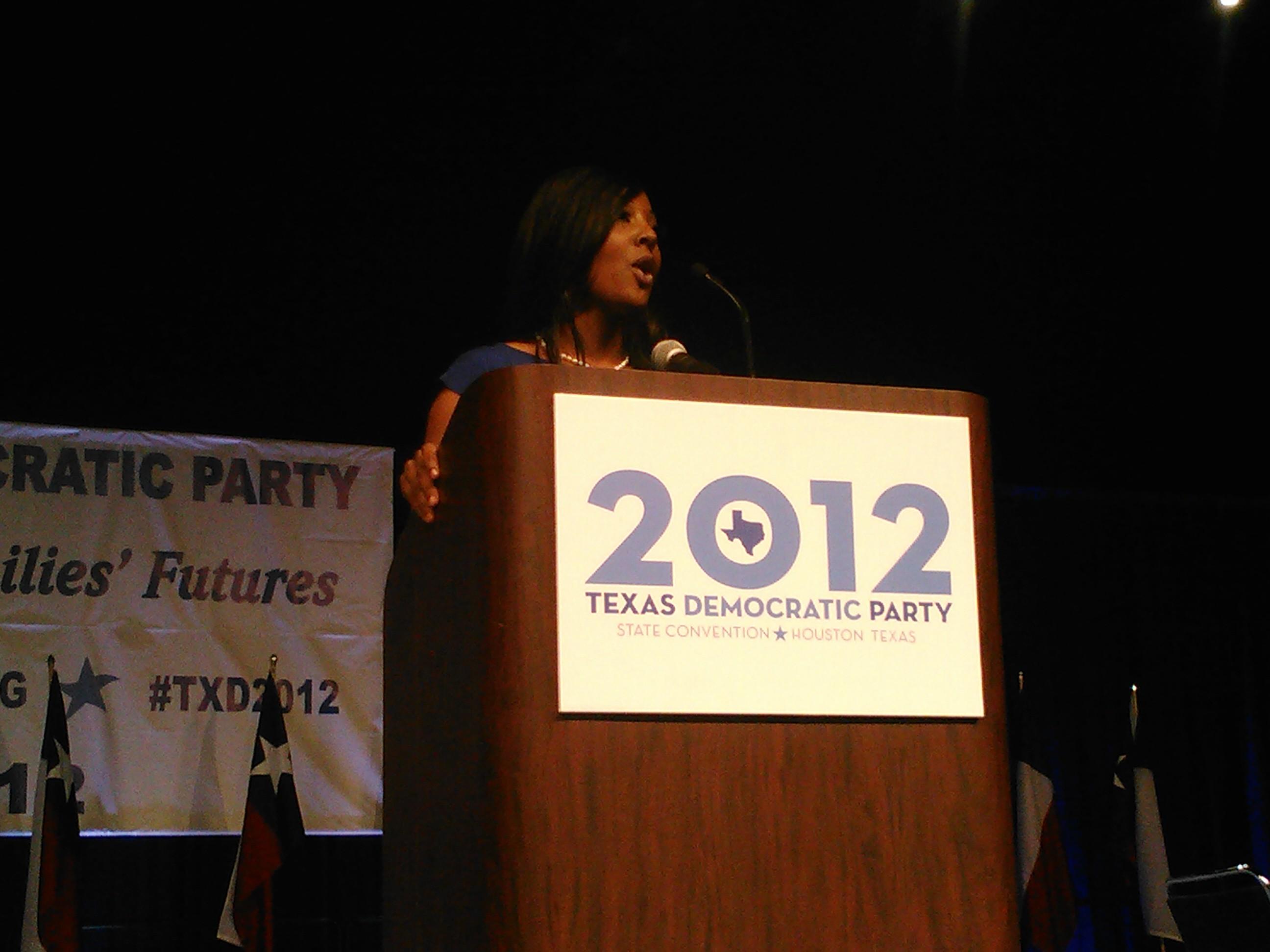 Tarsha Hardy - Texas Democratic Chair