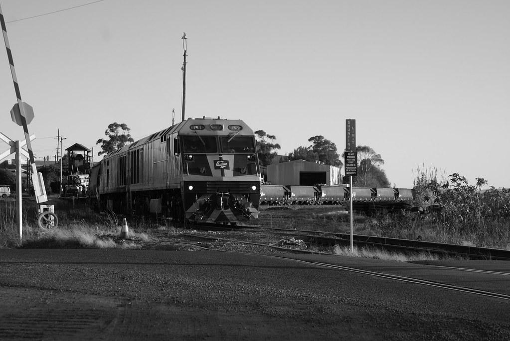New train, old signals by David Kimpton