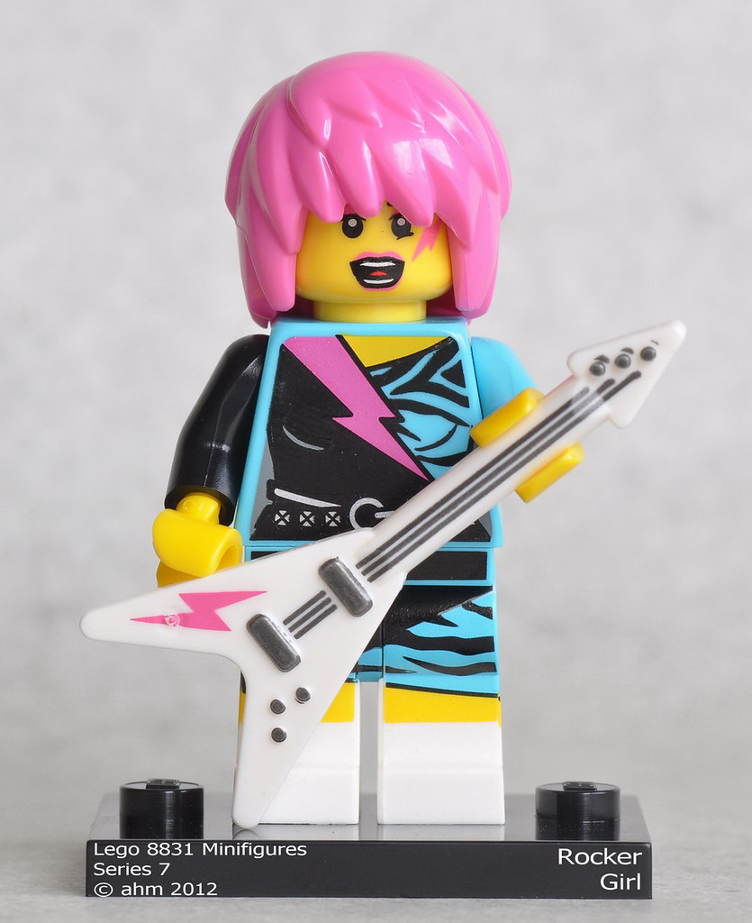 Rocker Girl NEW LEGO MINIFIGURES SERIES 7 8831