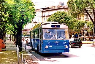 Lugano trolleybus 126, 1994