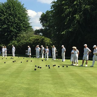 Camberley Bowling Club hosts a match between Ladies & Men's Probus Clubs | by timdodds
