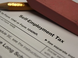 Self Employment Tax Form - Schedule SE | by Philip Taylor PT