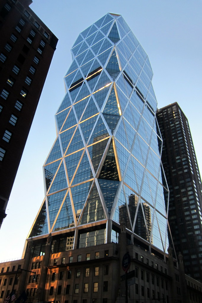 NYC - Midtown: Hearst Magazine Tower