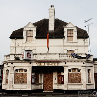 Abandoned Portsmouth - The Swan | by Hexagoneye Photography