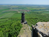 Hazmburk – výhled z věže, foto: Petr Nejedlý