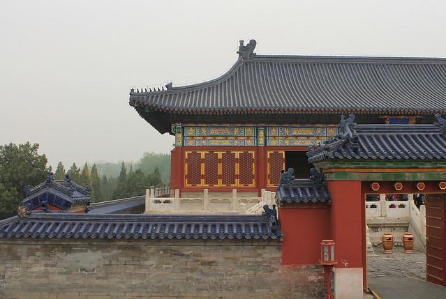 Pavillion - Temple of Heaven, Beijing (China)