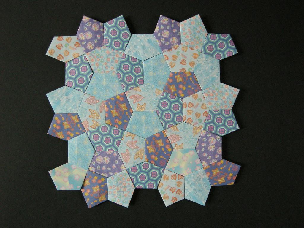 Cordovan Pentagon Quilt Opus Xlv Inspired By Oschene S