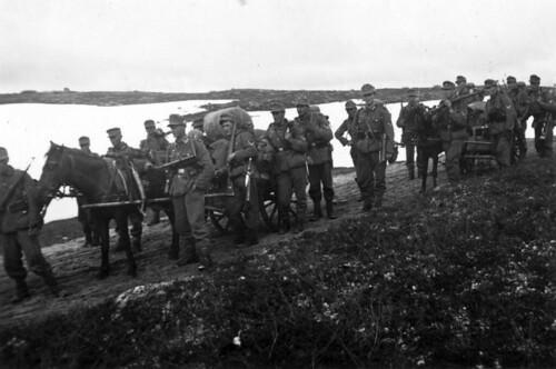 Marsjering i Finland ved Titowka