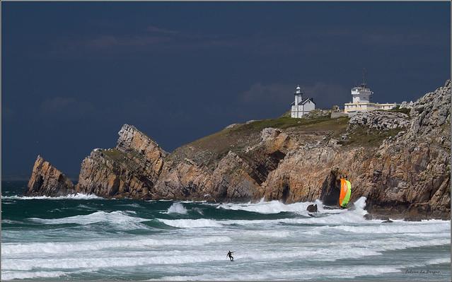 Kite surf sur Pen Hat....