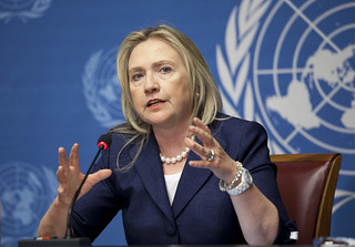 Secretary Clinton Speaks With Press Following Action Group for Syria Meeting | by US Mission Geneva