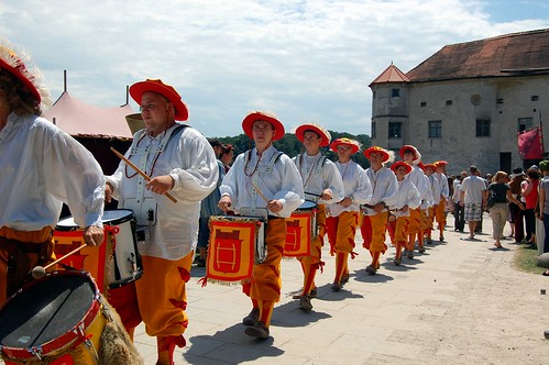 Burgfest 2012 ~ Drum processional | by @PensieveRobin